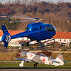 Eurocopter EC-120B Colibri (JAA) - F-GMDH and Yakovlev Yak-3 U-PW - 003/F-AZZK © 2019 Olivier Caenen, tous droits reserves