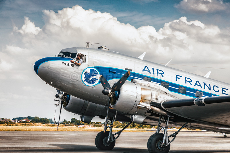 DC3 Dakota F-AZTE © 2018 Olivier Caenen, tous droits reserves