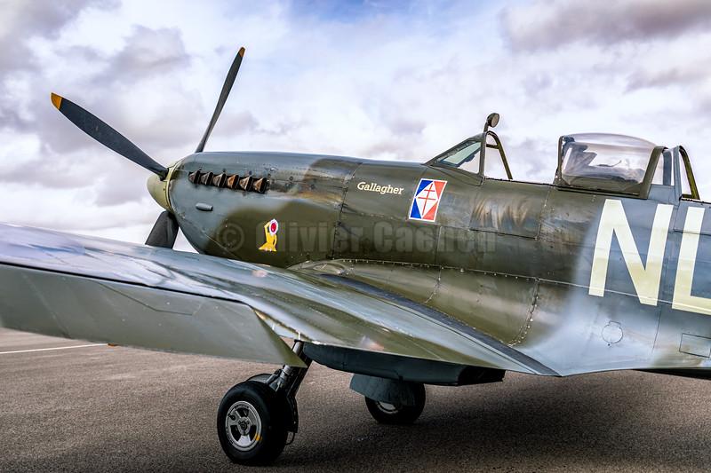 Supermarine Spitfire T.IX ML407 © 2019 Olivier Caenen, tous droits reserves