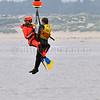 Exercice d'Hélitreuillage en Baie de Canche-Journée sécurité en Mer
