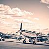 North American P-51D Mustang TF-871/Supermarine Spitfire LF Mk VIIIc G-BKMI - MT928/ZX-M