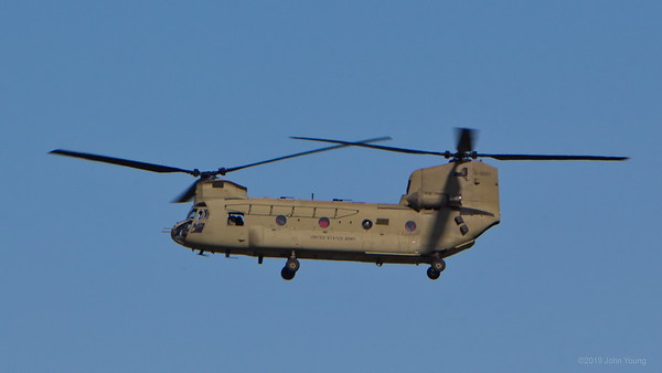 CH-47 Chinook at the 2019 Rochester Airshow