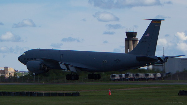 KC-135 Stratotanker at the 2019 Rochester Airshow