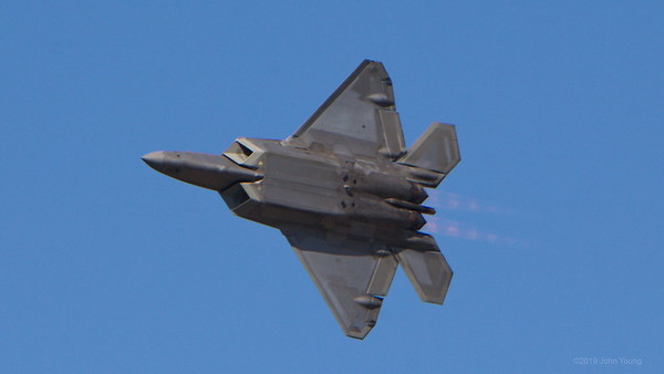 F-22 Raptor at the 2019 Rochester Airshow