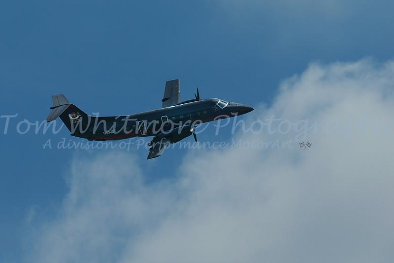 Dale Earnhardt private plane.