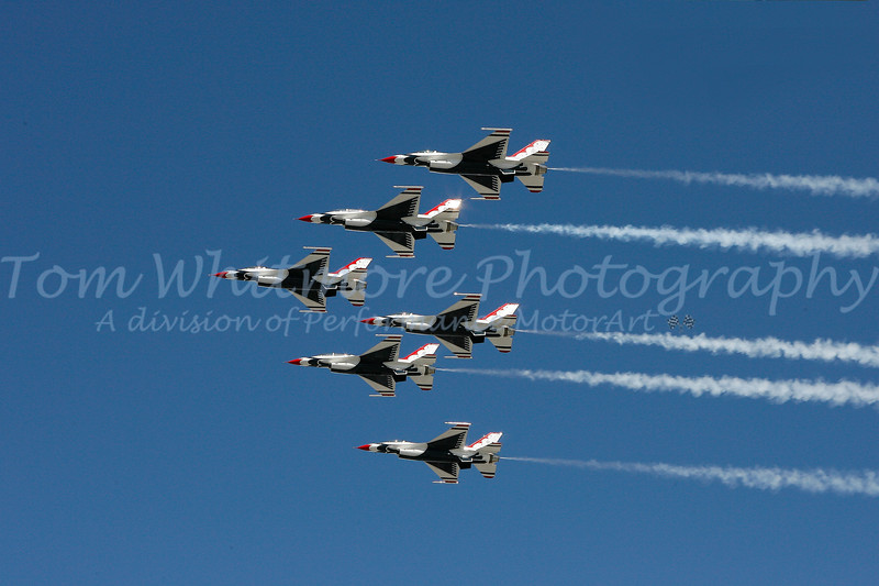 Thunderbirds Flyover at NASCAR