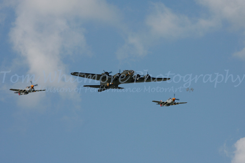 WWii Planes over Charlotte Motor Speedway May 30, 2010