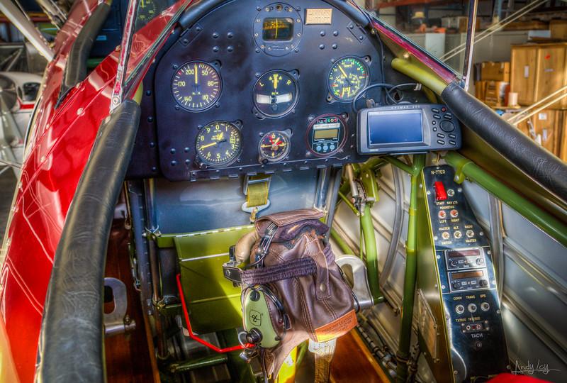 Pilot's cockpit