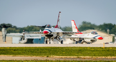 USAF Thunderbirds-Taxi