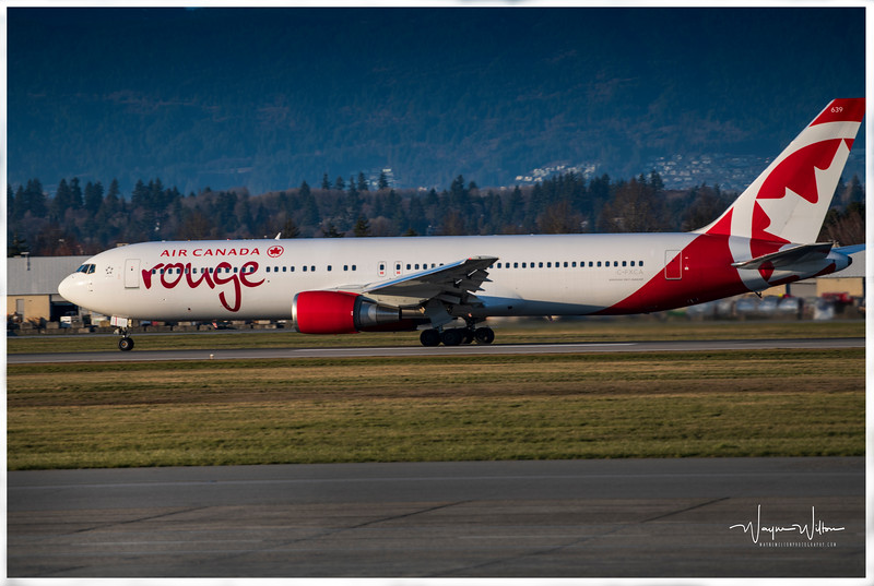 Air Canada Rouge at YVR