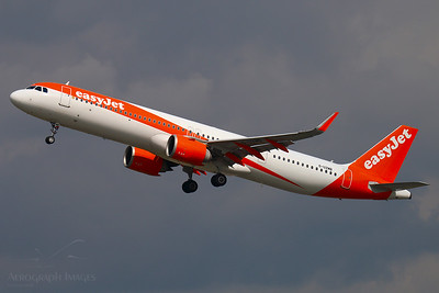 Reg: G-UZMB Operator: easyJet Airline Type: Airbus A.321-251NX		    C/n: 8369  Location: Manchester (MAN / EGCC) - UK   EZY9003 climbs away from runway 23R on a maintenance test flight during the COVID-19 pandemic shutdown.     Photo Date: 21 May 2020 Photo ID: 20....