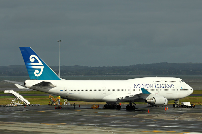 Air New Zealand Boeing 747-419