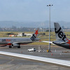 Two Jetstar Airbus A320