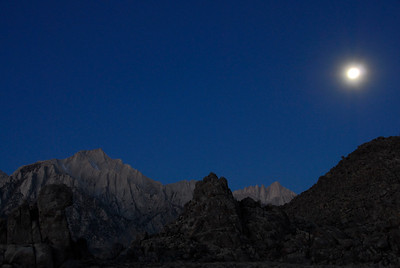 Mt. Whitney & Lone Pine Peak