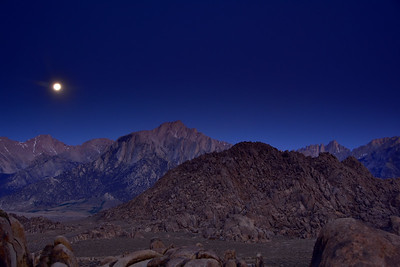 Mt. Whitney, Lone Pine Pk. & Mt. Langley