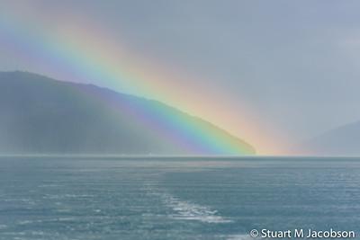 Alaska sized rainbow