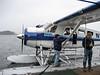 Boarding seaplane