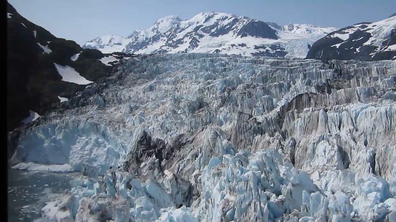 Flightseeing over Surprise Glacier in Prince William Sound  Alaska taken by Kyle Taylor