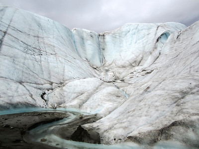 Root Glacier in Wrangell - St. Elias National Park McCarthy Alaska