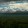 Alaska Range across the McKinley River