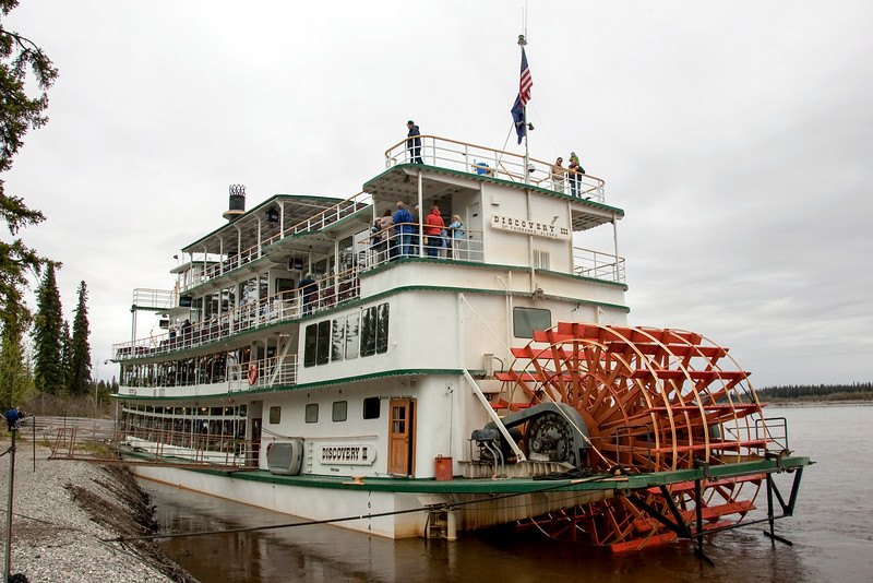 Discovery III of Fairbanks = Riverboat cruise