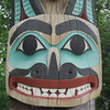 Tlingit Totem Detail