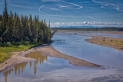 Chena River Cruise near Fairbanks, Alaska -16