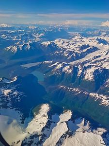 Aerial View of Scenic Alaska
