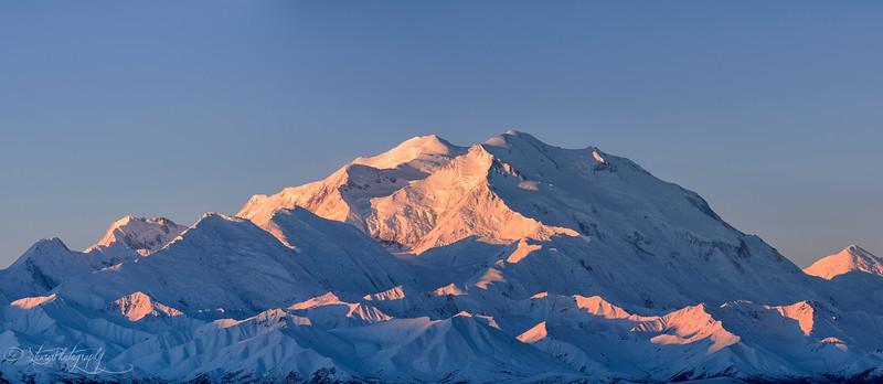 Mt McKinley's Pink Coat - Denali NP, AK 2012