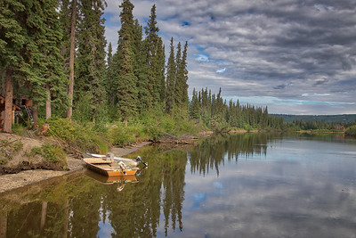 Chena River Cruise near Fairbanks, Alaska -21