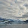 Low Clouds Over Glacier