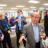 "Syun-Ichi Akasofu, Professor of Physics, Emeritus, speaks with Sherry Modrow after a ceremony commemorating the late Sen. Ted Stevens' 90th birthday, Nov. 18, 2013, at the Rasmuson Library.  <div class=""ss-paypal-button"">Filename: AKA-13-4001-84.jpg</div><div class=""ss-paypal-button-end"" style=""""></div>"