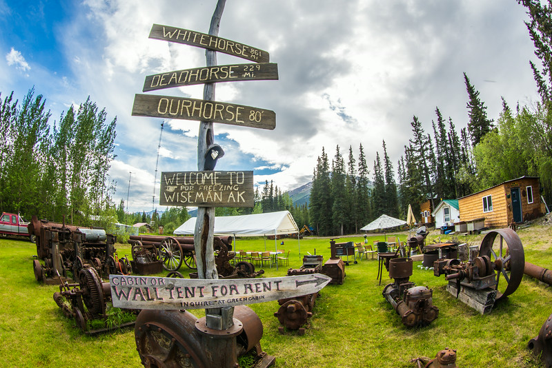 """The historic mining town of Wiseman, with a population of 14 at the 2010 census, is located along the Koyukuk River about 60 miles north of the Arctic Circle.  <div class=""""ss-paypal-button"""">Filename: AKA-14-4213-107.jpg</div><div class=""""ss-paypal-button-end""""></div>"""