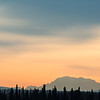 "Denali is visible on campus on an October sunset.  <div class=""ss-paypal-button"">Filename: AKA-12-3613-4.jpg</div><div class=""ss-paypal-button-end"" style=""""></div>"