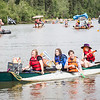 "Participants of the 2013 Red Green Regatta float down the Chena River.  <div class=""ss-paypal-button"">Filename: AKA-13-3885-115.jpg</div><div class=""ss-paypal-button-end"" style=""""></div>"