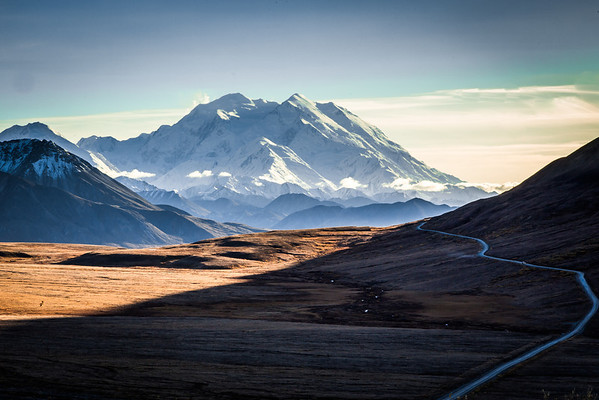 Mt. McKinley is North American's highest peak.  Filename: AKA-13-3942-376.jpg