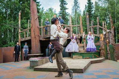 "The Fairbanks Shakespeare Theatre performs ""As You Like It"" in summer of 2014 at the Jack Townshend Point theatre on campus.  Filename: AKA-14-4247-25.jpg"