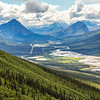 "This photo looks south down the Dietrich River valley as it parallels the Dalton Highway and Trans-Alaska Pipeline through the southern Brooks Range.  <div class=""ss-paypal-button"">Filename: AKA-14-4219-059.jpg</div><div class=""ss-paypal-button-end""></div>"