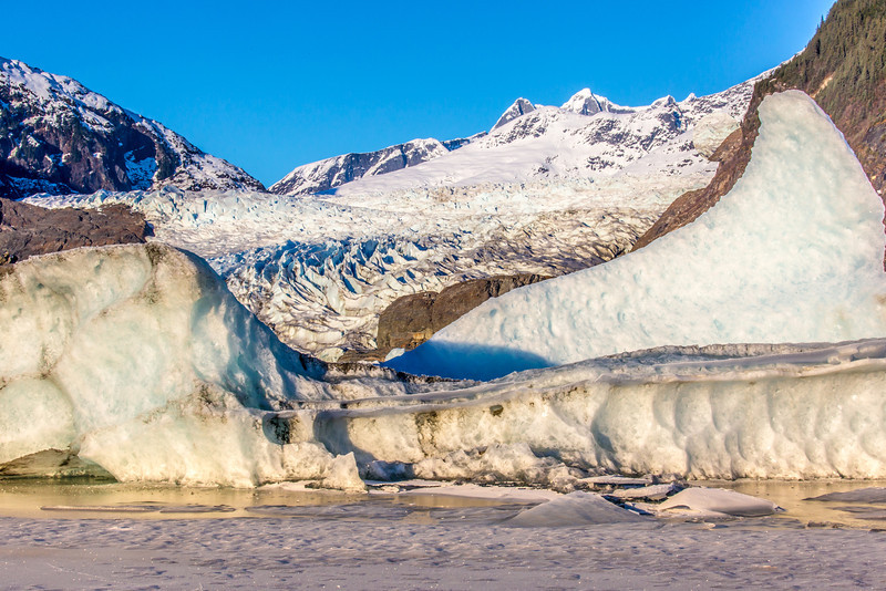 """The Mendenhall Glacier near Juneau is one of Alaska's top tourist attractions.  <div class=""""ss-paypal-button"""">Filename: AKA-14-4059-128.jpg</div><div class=""""ss-paypal-button-end"""" style=""""""""></div>"""