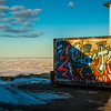 "Grafitti is found on a container near the waterfront in Nome, site of UAF's Northwest Campus.  <div class=""ss-paypal-button"">Filename: AKA-16-4865-168.jpg</div><div class=""ss-paypal-button-end""></div>"