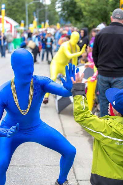 """More than 200 UAF students, staff, faculty and administrators turned out to participate in the 2013 Golden Days parade through downtown Fairbanks.  <div class=""""ss-paypal-button"""">Filename: AKA-13-3886-209.jpg</div><div class=""""ss-paypal-button-end"""" style=""""""""></div>"""