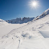 "Wind blown patterns in the snow near the Jarvis Glacier in the eastern Alaska Range.  <div class=""ss-paypal-button"">Filename: AKA-13-3795-147.jpg</div><div class=""ss-paypal-button-end"" style=""""></div>"