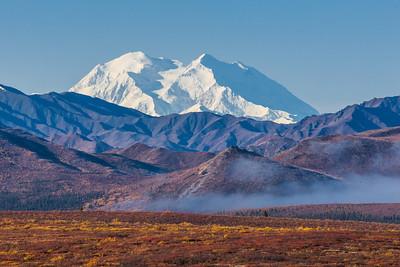 Mt. McKinley is North American's highest peak.  Filename: AKA-13-3942-7.jpg