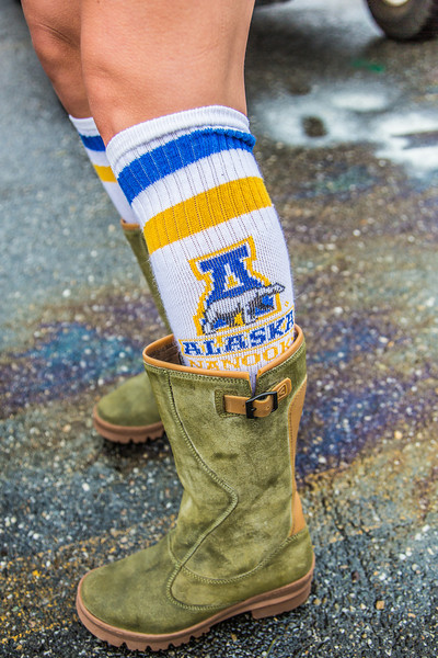 """More than 200 UAF students, staff, faculty and administrators turned out to participate in the 2013 Golden Days parade through downtown Fairbanks.  <div class=""""ss-paypal-button"""">Filename: AKA-13-3886-19.jpg</div><div class=""""ss-paypal-button-end"""" style=""""""""></div>"""