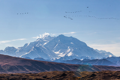 Mt. McKinley is North American's highest peak.  Filename: AKA-13-3942-192.jpg