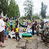 "Participants in the 2013 Red Green Regatta prepare their floats on the banks of the Chena River.  <div class=""ss-paypal-button"">Filename: AKA-13-3885-27.jpg</div><div class=""ss-paypal-button-end"" style=""""></div>"