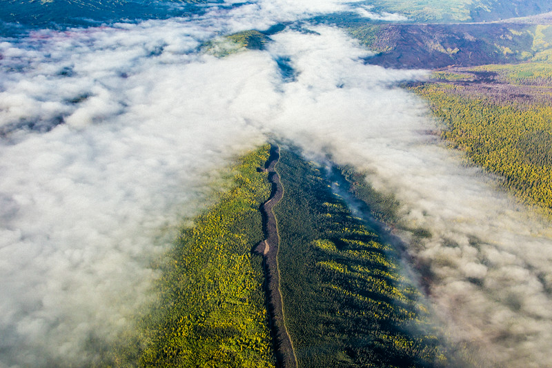 """An aerial view of a ridgetop somewhere north of Fairbanks in early September.  <div class=""""ss-paypal-button"""">Filename: AKA-13-3929-32.jpg</div><div class=""""ss-paypal-button-end""""></div>"""