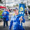 "UAF Provost Susan Henrichs participates in the 2016 Golden Days parade along with students, staff, faculty and alumni.  <div class=""ss-paypal-button"">Filename: AKA-16-4939-151.jpg</div><div class=""ss-paypal-button-end""></div>"
