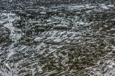 Ice crystals on Toolik Lake in mid-June.  Filename: AKA-14-4216-298.jpg