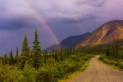 Alaska wilderness scene along the Nabesna Road near the Wrangell-St. Elias National Park and Preserve.  Filename: AKA-15-4565-012.jpg
